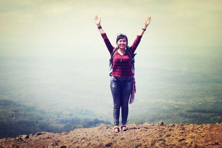 Meet the mother nature. INDONESIA Summit Enjoying Life