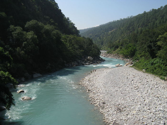 Travel Destinations Travel Vacations Water Tourism Outdoors Landscape Teesta River Way To Gangtok