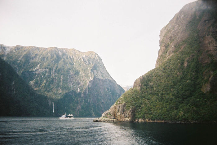 Film SuperHeadz Beauty In Nature Clear Sky Day Mountain Nature Nautical Vessel New Zealand No People Outdoors Scenery Scenics Sea Sky Tranquil Scene Tranquility Water Waterfront