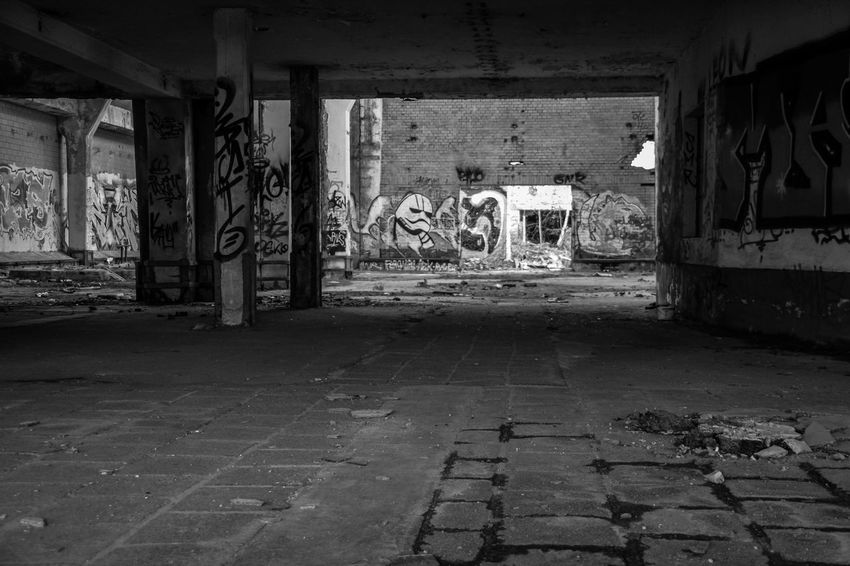 Abandoned Architecture Building Exterior Built Structure Day Graffiti Indoors  Lost Places In Leipzig No People Sternburg Sternburgbrauerei
