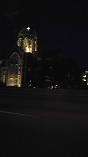 Night Built Structure EyeEmNewHere Switch It Up New Scenery Architecture Religion Place Of Worship Illuminated