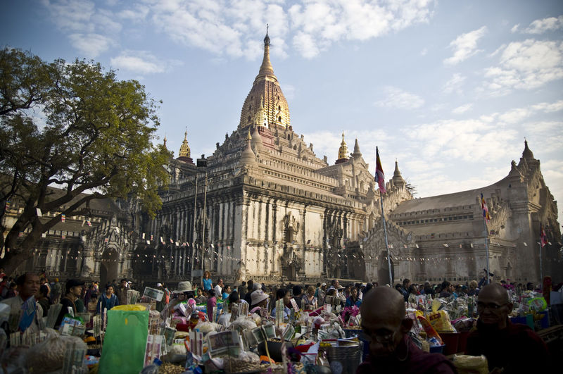 Architecture Built Structure Capital Cities  City Life Cloud Cloud - Sky Crowd Day Famous Place First Eyeem Photo History International Landmark Large Group Of People Leisure Activity Lifestyles Myanmar Outdoors Place Of Worship Religion Sky Spirituality Stupa Tourism Tourist Travel Destinations