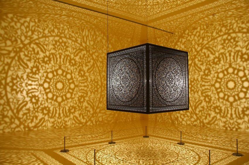 Peabody Essex Museum Indoors  Pattern Design Ornate Home Interior Architecture No People