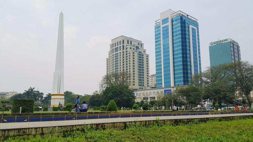 Mahabandula Park Independence Monument Yangon, Myanmar Citycenter Note4 Photography PhonePhotography