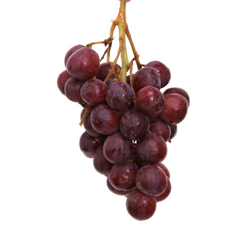 Food And Drink Healthy Eating Food Studio Shot Wellbeing Fruit White Background Freshness Close-up Indoors  No People Grape Cut Out Bunch Still Life Ripe Red Grape Hanging Red Vineyard Winemaking