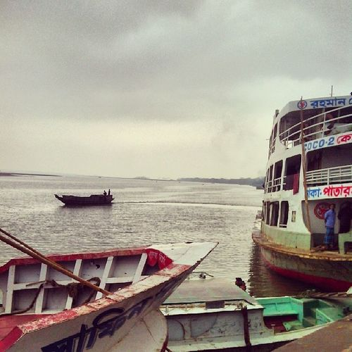 Waiting River Sky Launch Barisal Bangladesh BeautifulBANGLADESH ...