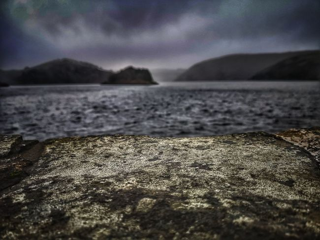 Islands in The sun...... Not... Lol Mountain Reservoir Lake Hello Darkness My Old Friend Rainy Days Rock Lychen Rock - Object Forground Focus On Foreground Stormy Weather Wet Wet Wet Water Close-up Sky Landscape Rippled Horizon Over Water Tranquil Scene Tranquility Wave Waterfront