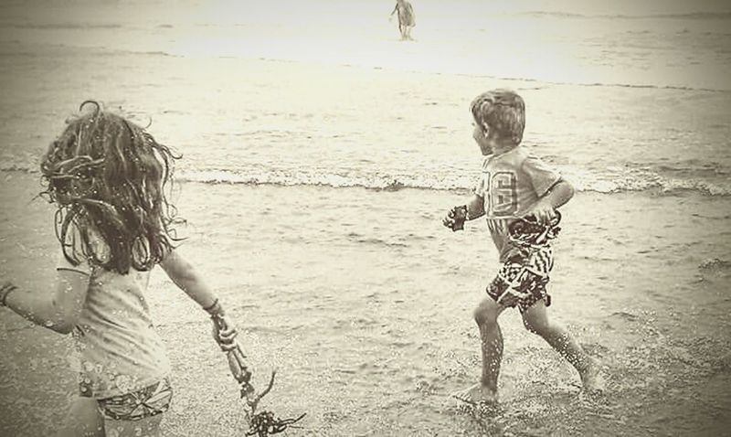 Child Beach Childhood Water Happiness Outdoors Nature Oregon Beauty Travel Photography Oregonlife CaptureTheMoment Love Life Summer Beachphotography Siblings Family Fun Scenics Running Rare Photo Moments Memories Through My Lens Happiness Sand Smile