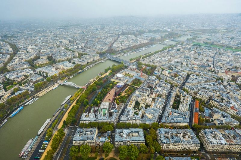The Traveler - 2015 EyeEm Awards River Seine Paris Travel From The Top