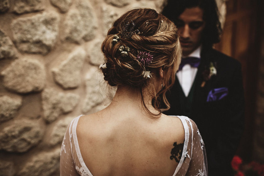 Adult Adults Only Bride Bridegroom Close-up Day Focus On Foreground Formalwear Headshot Human Back Men Outdoors People Real People Rear View Togetherness Two People Wedding Wedding Wedding Day Wedding Dress Wedding Photography Weddingphotographer Wife Women