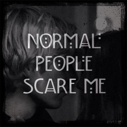 Americanhorrorstory Evan Peters Normal People Scare Me Love