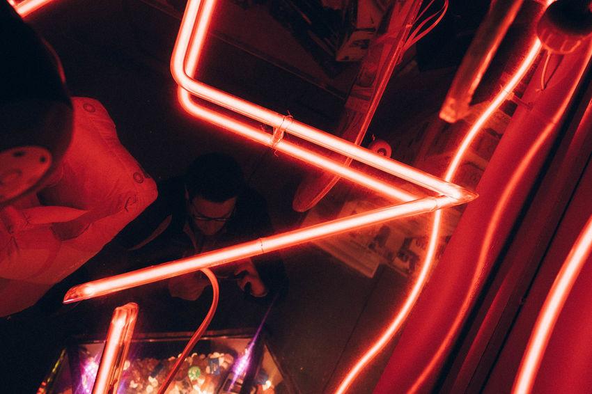 23mm All The Neon Lights Fuji Fujifilm FUJIFILM X-T1 Fun Fair Night Night Lights Night Photography Red Light Reflect XF23mmf1.4 Xf35mm Xseries Xt1