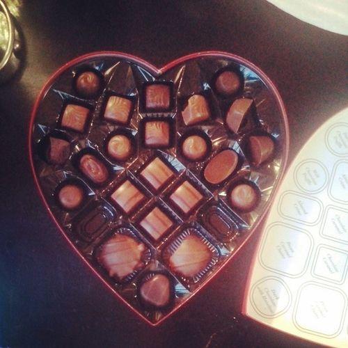 My daddy got me chocolate. Worldsbestdad Love Valentine Vday valentinesday