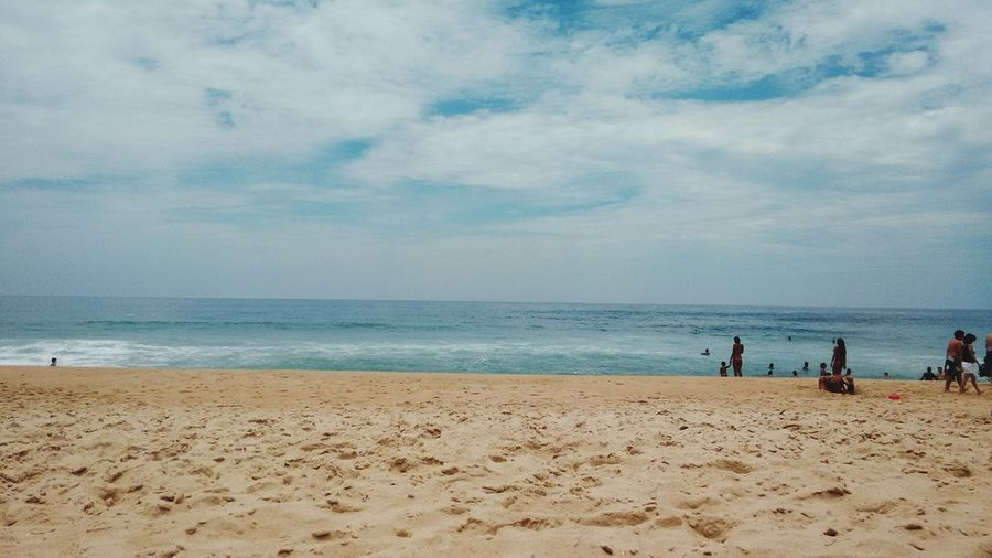 Beach Afternoon Hot