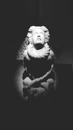 The Sculpture.. Sculpture Monocrhome Eyeem Monochrome My Monochrome World