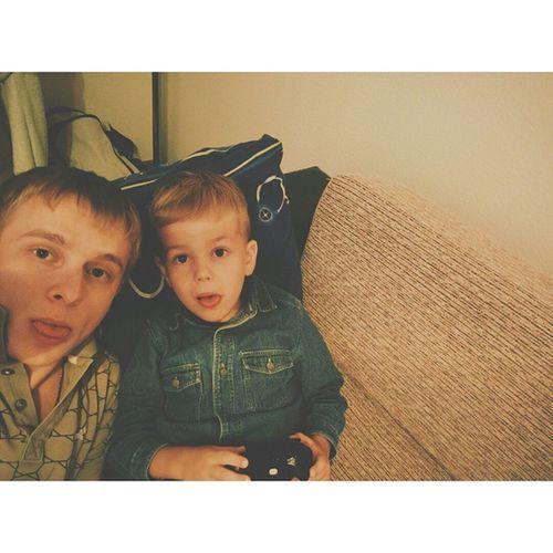 Вечер за игрой в приставку с племяшом Vscocam Vscolike Xbox360 Xbox nexus5 hdrplus selfie TagsForLikes webstagram instago my family instacool life tweegram