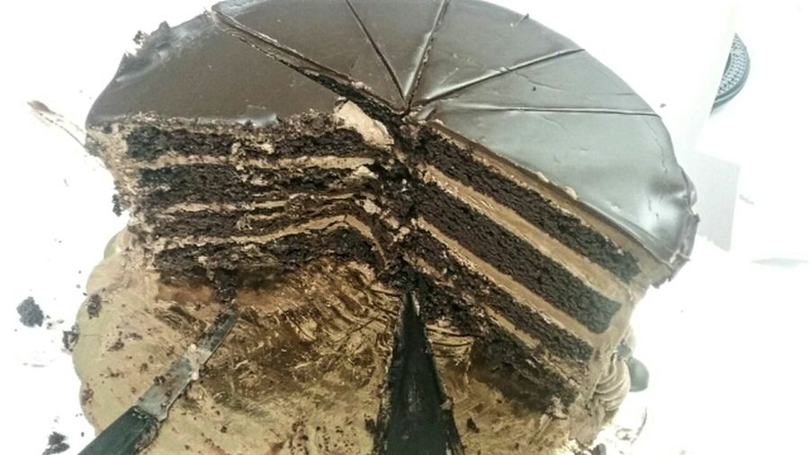 Cake: Lunch of