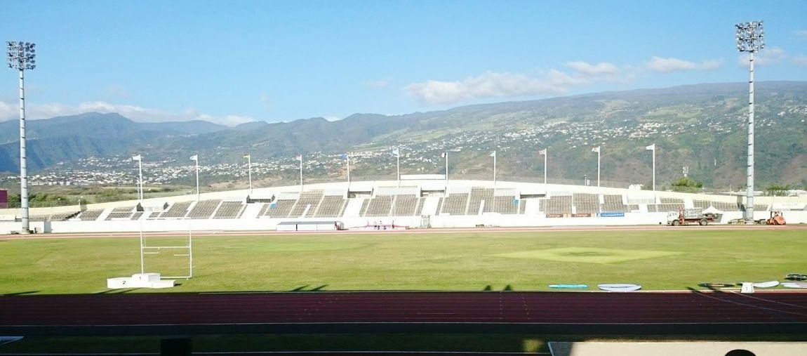 Jeux Des Iles Athletics Athletism Reunion  Reunion Island Stade Stadium Afternoon Xperiaz2