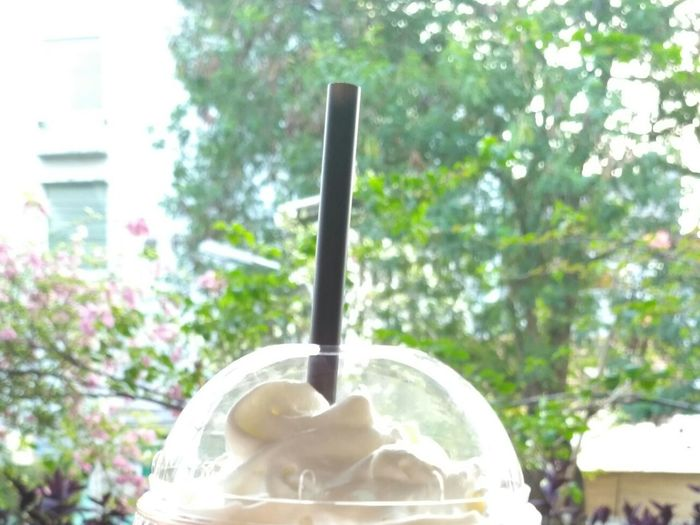 Drink Drinking Straw Coffee - Drink Drinking Glass Milkshake Latte Refreshment Smoothie Food And Drink Iced Coffee Text Milk Day Disposable Cup Cafe Frothy Drink No People Ice Cube Indoors  Cappuccino Nuttela Frappe Frappe Time Straw Leaf 🍂
