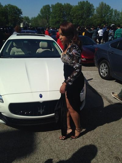and I can say I DID THAT!! Prom Prom 2014 Prom 2k14 MASERATI