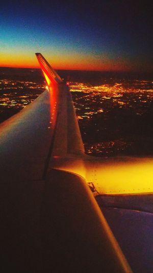 Flying southwest over atlanta GA From An Airplane Window Atlanta Ga Flight ✈ Southwest Airlines
