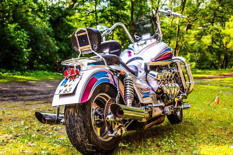 Boss Hoss V8 Motorbike