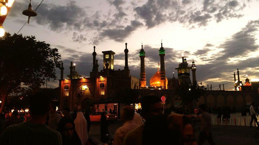 Cities At Night Iran Qom Muslim Temple Islam Architecture First Eyeem Photo