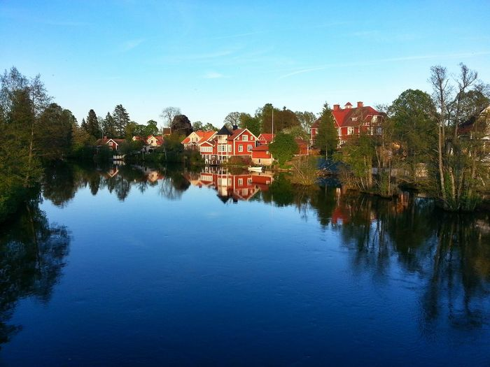 Water Reflections Beutiful  Art Sweden