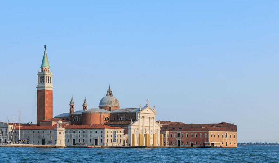 View of san giorgio maggiore by canal