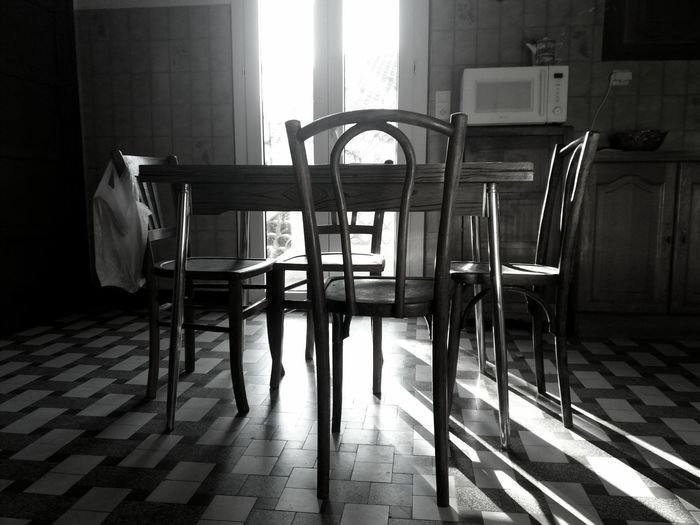 Chairs in room