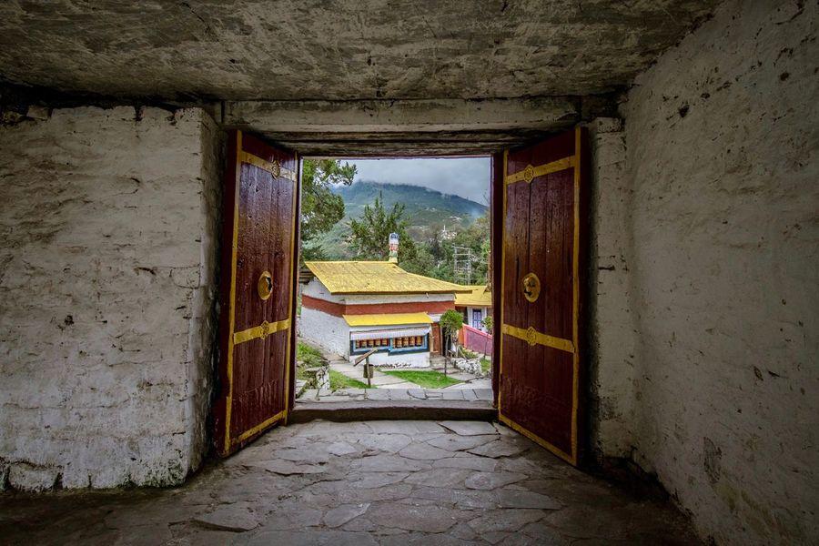 Tawang Vajrayana Mahayana Buddhist Temple Architecture Built Structure Open Doorway House Door No People Indoors  Window Architectural Column Day Arunachal Pradesh Tibetan Culture Buddhist Temple Buddhism Tibet Tibetan Buddhism Tibetan  Religion India Monastery EyeEmNewHere