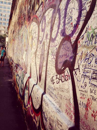 Не забыт.... Стена Виктора Цоя