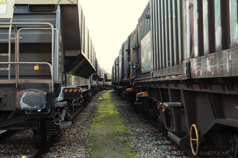 EyeEm Selects Transportation Day Mode Of Transportation Land Vehicle Building Exterior Built Structure Train Outdoors