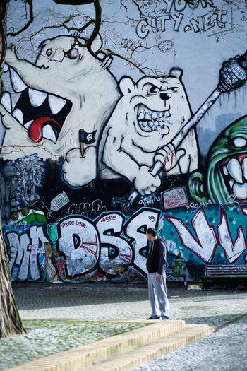 Berlin Graffiti Graffiti Art Spielplatz