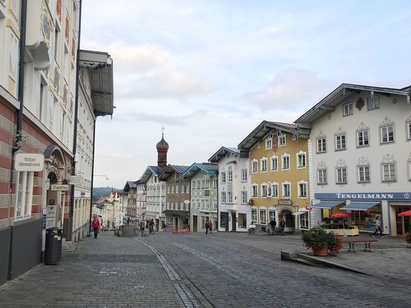 Bad Tölz Marktstrasse Bavaria Bavarian Architecture Bavarian City City Life Cuty Upper Bavaria