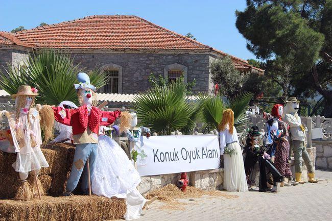 Barbaros Scarecrow Festival - Turkey. Barbaros Oyuk Festivali 19-20-21 May 2017 Barbaros  Urla Scarecrow Oyuk Korkuluk Festival Izmir Photo By Sinan Keskin Photo By @snnkeskin