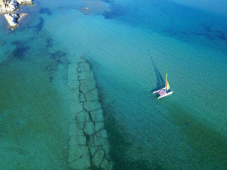 Sailing Capture Tomorrow Fromabove Minimalism Minimal Water Nature Travel Sailing High Angle View