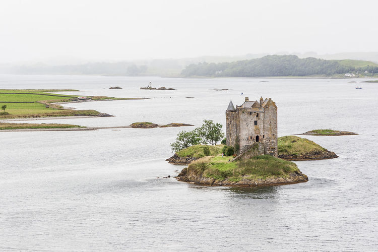 Appin Appin Castle Stalker Castle Castle Ruin Castle View  Castle Walls Castle Tower Castle Architecture Castle Lake Castle Photography Castle Island Ancient Castle Tower House Islet Tidal Island Tidal Islet Island Loch Laich Loch  Lake Lake View Lakeside Lakeshore Lakeview Highlands Scottish Highlands Scottish Scenery Scottish Castle National Scenic Area Scenics Lynn Of Lorne Lismore Architecture Building Exterior Water Day Daylight Landscape Lakescape Panorama Panoramic View Idyllic Tranquility Tranquil Scene High Angle View Elevated View View From Above Cloud - Sky Cloudy Sky Historical Building