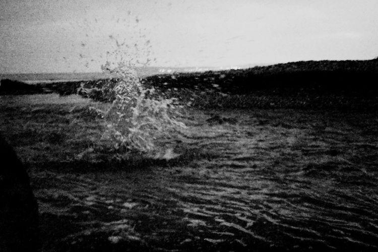 Impact Water Motion Sea Wave Nature No People Waterfront