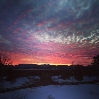 Sunrise Earlymorning  College LSC