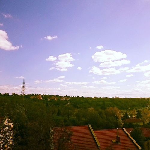 Cloudporn Mediterrania Blue Sky Colorful Weekend Instahungary Loveshungary Mik Ikozosseg It's that kind of day.
