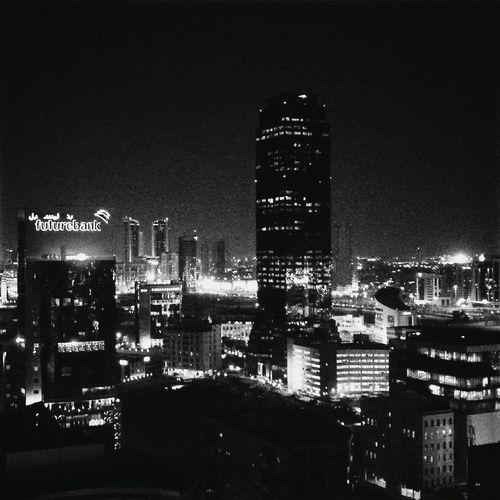 Beautiful country!! Travel Night Lights Nightphotography Bahrain Monochrome Blackandwhite