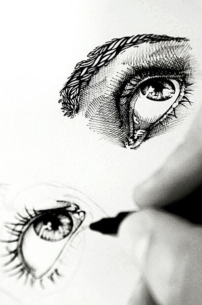 Drawing Art, Drawing, Creativity Mangaart Eyes Beauty Nature Lovers Mine Relaxing ShoutOut Tagsforlikes