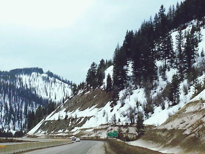 LookoutPass Idaho Idaho/Montana state Line Landscape Scenic View scenic & Beautiful ♥ツ✌