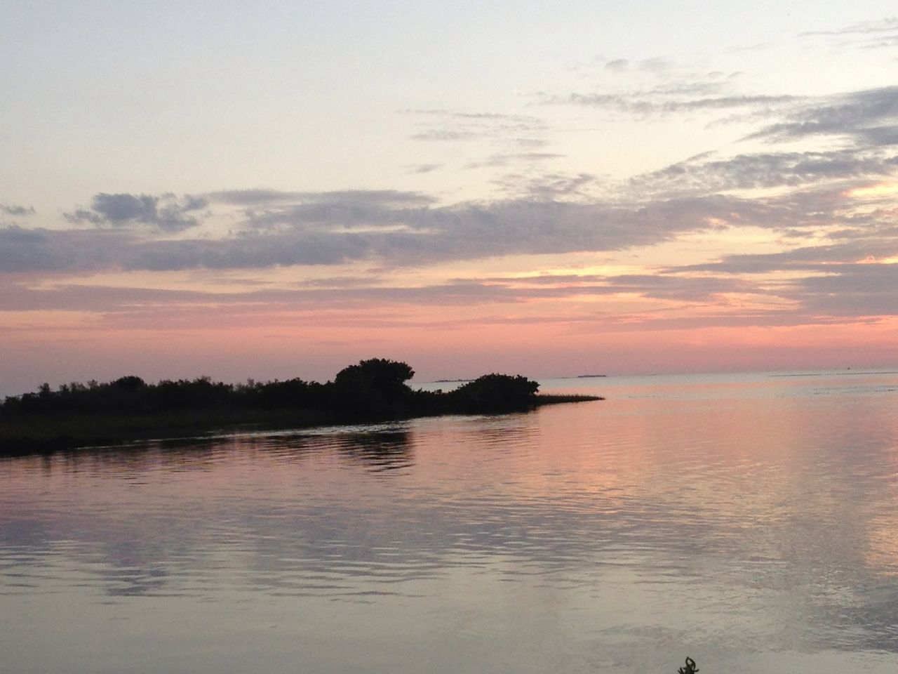 sunset, reflection, water, nature, scenics, beauty in nature, sky, tranquility, no people, silhouette, landscape, outdoors, tree, sea