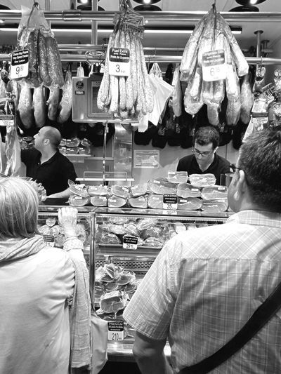 Barcelona food market Barcelona♡♥♡♥♡ Travel Destinations Buying Meat Food Close-up Everyday Living