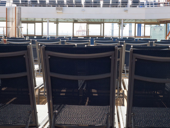 Across the top of the pool loungers Across The Top Chair Loungers No People Pool Chairs Pool Loungers Seat Sun Loungers