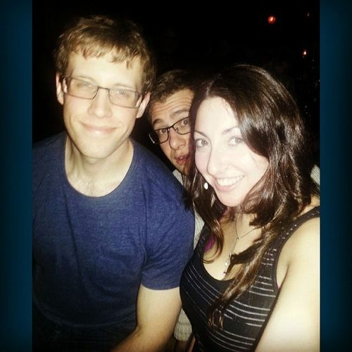 NYC Thecrowninn Bar Funnyface photobomb whatevenhappenedlastnight