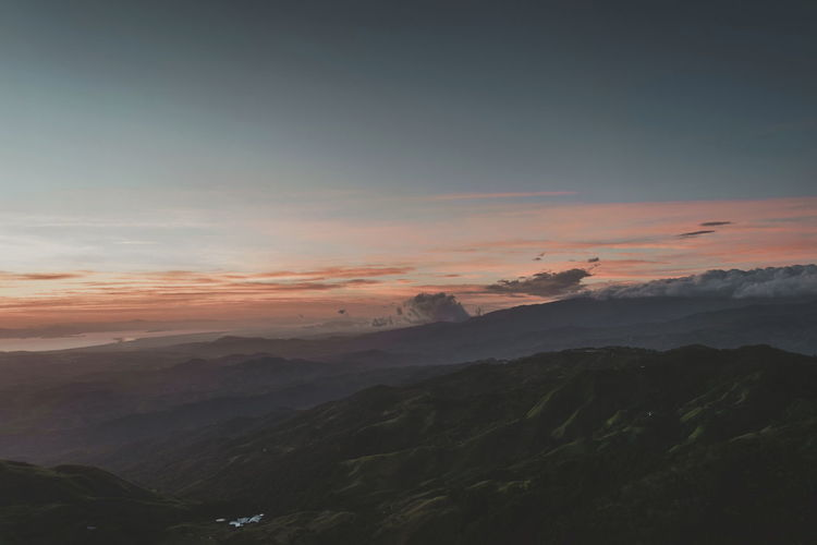 Landscape Mountain Sunset Nature Scenics Cloud - Sky Environment EyeEm Best Shots EyeEm Nature Lover Beauty Light Fade Beauty In Nature Sky And Clouds Travel Destinations No People Tranquil Scene Traveling View
