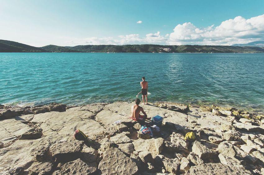 Gorges Du Verdon Saint Croix River Lake View EyeEm Best Shots - Landscape